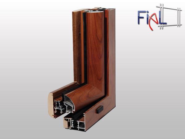 Infissi in alluminio e legno prezzi gallery of casa for Infissi in alluminio prezzi