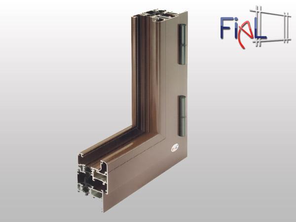 Infissi alluminio fial infissi for Serramenti in alluminio prezzi mq