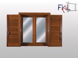 Infissi legno fial infissi for Costo finestre alluminio